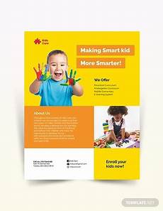 Child Care Flyer Design 16 Child Care Flyer Designs Amp Examples Psd Ai Word