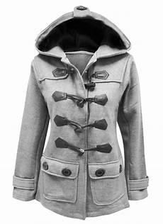 toggle coats size 20 womens fleece jacket duffle style hooded toggle