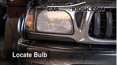 1999 4runner Fog Light Bulb Replacement Headlight Change 1995 2004 Toyota Tacoma 2004 Toyota