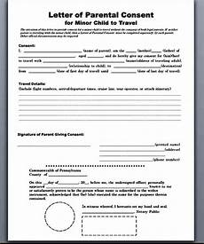 Child Travel Consent Form Samples Sample Child Travel Consent Form Mous Syusa