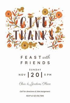 thanksgiving card template word free thanksgiving invitation templates free greetings island