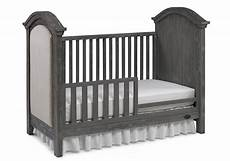 lucca traditional crib toddler guard rail in weathered