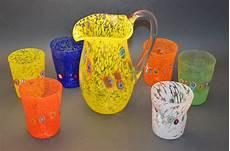 bicchieri vetro soffiato bicchieri in vetro di murano goti de fornasa murano