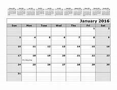 How To Make A 12 Month Calendar In Word 2016 Monthly Calendar Template With 12 Months At Top