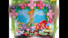 Tinkerbell Themed Birthday Party Ideas Beautiful Tinkerbell Party Decorations Ideas Youtube