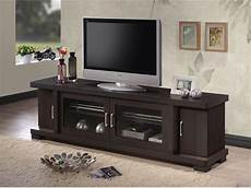 wood tv console 70 inch stand contemporary entertainment