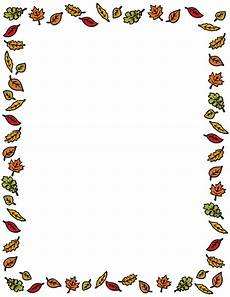 Free Fall Borders For Word Fall Leaves Clipart Panda Free Clipart Images