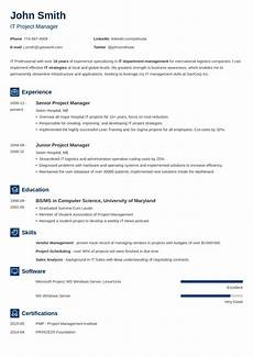 Microsoft Online Resume 20 Professional Resume Templates For Any Job Download