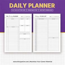 Free Schedule Planner 2019 Daily Planner Daily Schedule To Do List Printable