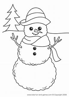 winter coloring pages collections 2011