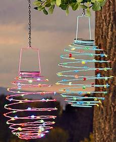 Spiral Solar Lights Garden Decor Front Lawn Decorations Led Solar Lights