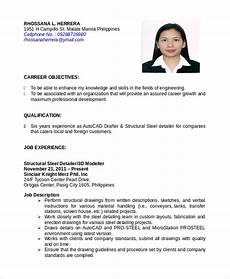 Autocad Operator Cover Letter Autocad Resume Template 8 Free Word Pdf Document