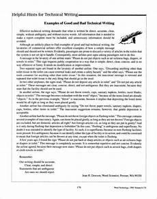 Technical Writing Example Free 13 Technical Writing Samples And Templates Pdf