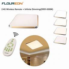 Ceiling Light With Remote 24w Led Ceiling Light Fixture Lamp Flush Mount Room