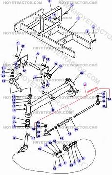 Front Axle 2wd Yanmar Tractor Parts