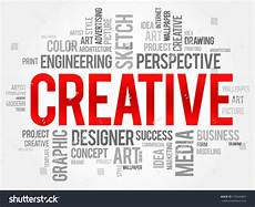 Word For Creative Creative Word Cloud Business Concept Stock Vector