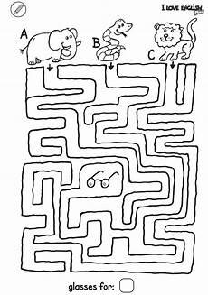ausmalbild labyrinthe f 252 r kinder i mini