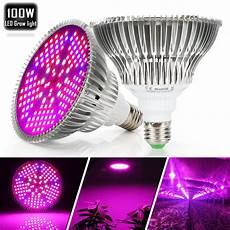 Types Of Light Bulbs For Growing Plants Best 5 Led Grow Lights For Indoor Plants Reviews Amp Buyers