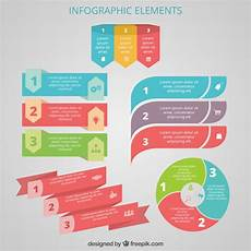 Infographic Elements Colorful Infographic Elements Vector Free Download
