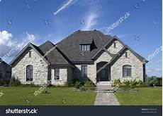 House Of Stone And Light Luxury Stone House Stock Photo 53434120 Shutterstock