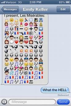 Emoji Texts Great Emoji Texts Popsugar Australia Tech