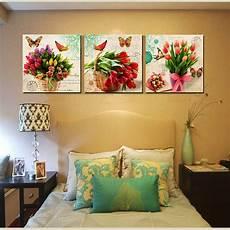 quadri su tela senza cornice mazzo floreale ste su tela moderna tulipani quadri