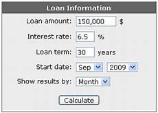 Amoritization Calc Free Online Amortization Schedule Calculator