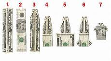 How To Fold Money Into Pants How To Fold A Dollar Bill Into A Shirt Funnies Pinterest