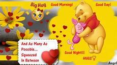 hugs hugs and more hugs good morning and good night youtube