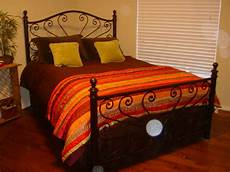 new wrought iron custom forged dandelion bed frame ebay
