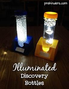 Light Theme Preschool Illuminated Discovery Bottles Prekinders