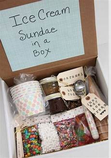 weihnachtsgeschenke box geschenkideen fuer beste freundin eis selber machen