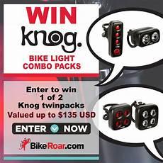 Light Tv Com Sweepstakes Bikeroar Win A Knog Bike Light Combo Pack Sweepstakes