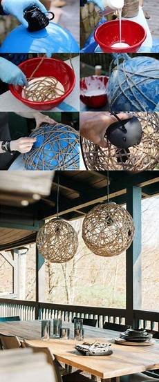 How To Make Rope Lights Blink How To Make A Sisal Rope Pendant Light Diy Pendant Light