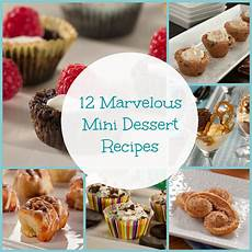 12 marvelous mini dessert recipes mrfood