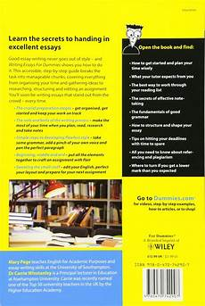 Essays For Dummies Writing Essays For Dummies Review