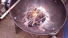 Light Coals Without Lighter Fluid How To Light A Fire Without Lighter Fluid Youtube