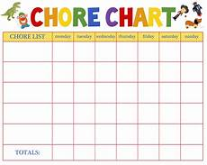 Chore Chart Pictures Free Behavioral Aid Printables Jumping Jax Designs