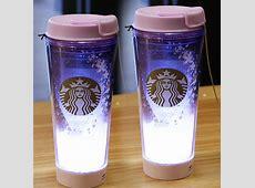 Starbucks KOREA 2017 Cherry Blossom LED Tumbler 355ml 2ea