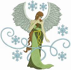 Christmas Angel Designs Machine Embroidery Design Christmas Angel Design 02
