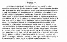 My First Day In School Essay My School Essay
