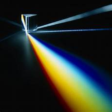 Light Into Prism White Light Split Into Colours By A Prism Photograph By