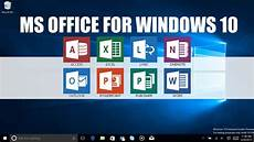 Office Word For Free How To Get Microsoft Office 2013 Free For Windows 10 Youtube
