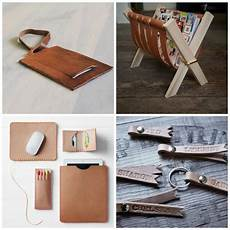 diy projects for gifts 25 diy leather gifts for everythingetsy
