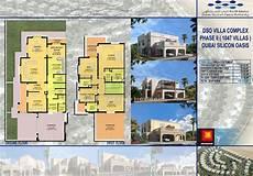 Floor Plan Of A Villa Floor Plans Cedre Villas Silicon Oasis By Dubai Silicon