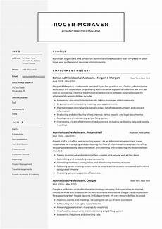 Modern Resume Samples 2020 Administration Administrative Resume Template 2019 Free Microsoft Word