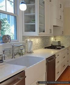 white kitchen cabinets with white backsplash modern white marble glass kitchen backsplash tile