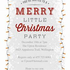 Invitation Letter Christmas Party 10 Free Christmas Party Invitations That You Can Print