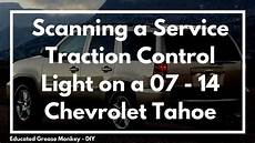 Stabilitrak Service Light Suburban Scanning A 2009 Chevy Tahoe W Service Traction Control