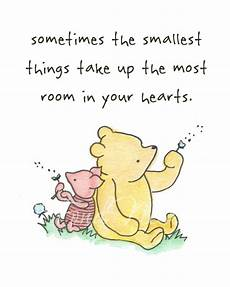 winnie the pooh piglet quote watercolor by fondnest